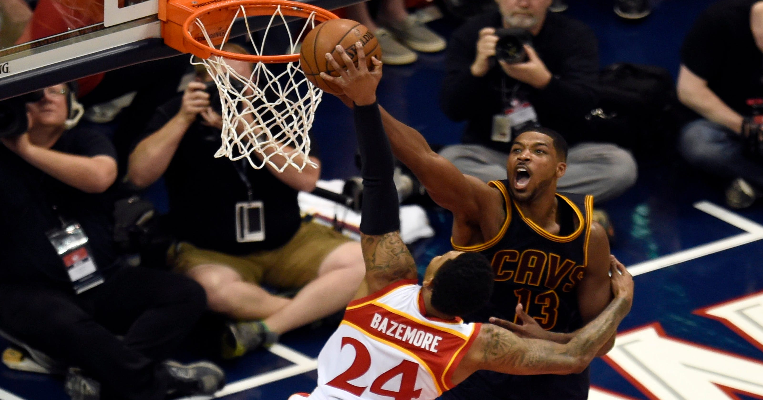 225a5c039c6 Cleveland Cavaliers  defense gets hot when it matters most
