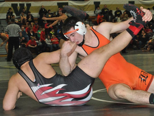 Nick Ready is Brighton's only two-time state wrestling