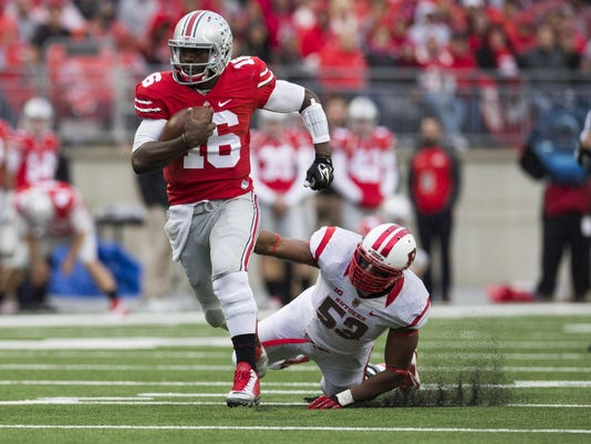 NCAA Football: Rutgers at Ohio State
