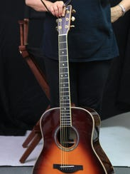 The Yamaha TransAcoustic guitar