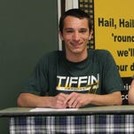 """Howell soccer player Jacob Kromberg was """"lucky"""" to have found a home at Tiffin University."""