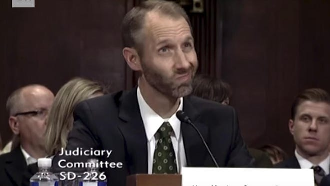 Matthew Peterson, who was nominated by Trump to the United States District Court for the District of Columbia, has been the subject of widespread ridicule since he was unable to define basic legal terms during his confirmation hearing Wednesday.
