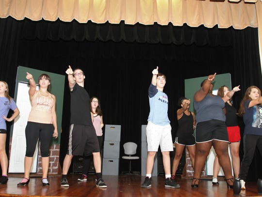 The Sterling Summer Youth theater have spent the summer practicing for the upcoming performance.