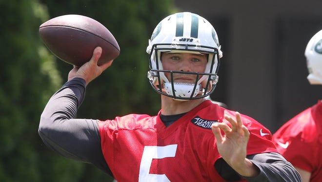 Coach Todd Bowles says Josh McCown, Christian Hackenberg and Bryce Petty all have an equal chance to win the job.