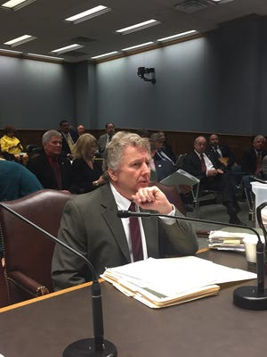 Sen. John Milkovich, D-Shrevport, testified to the House Administration of Criminal Justice Wednesday about his bill to ban abortions after 15 weeks.