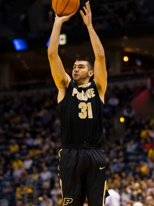 NCAA Basketball: Purdue at Marquette