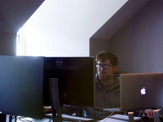 Matt Montgomery, senior designer at Designsensory on