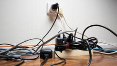 Here's how to organize the unsightly nest of wires