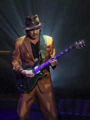 Carlos Santana.