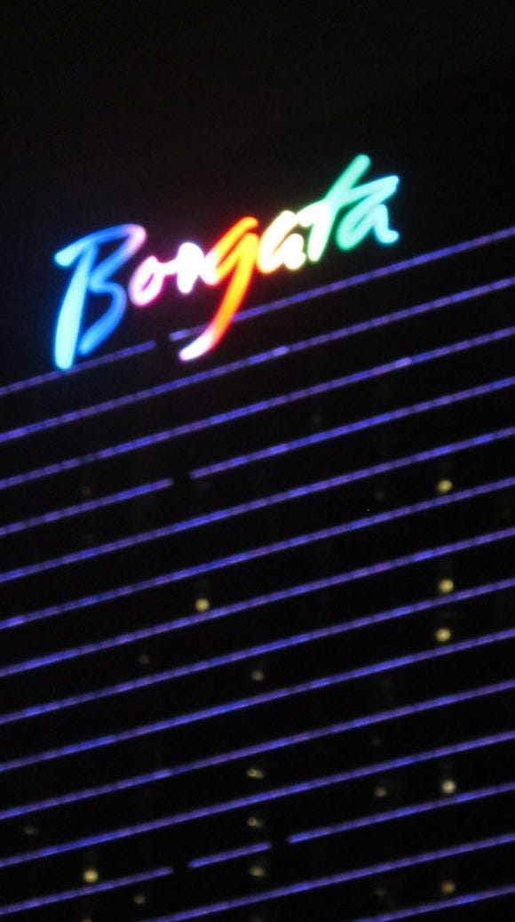 The Borgata casino in Atlantic City continued to thrive
