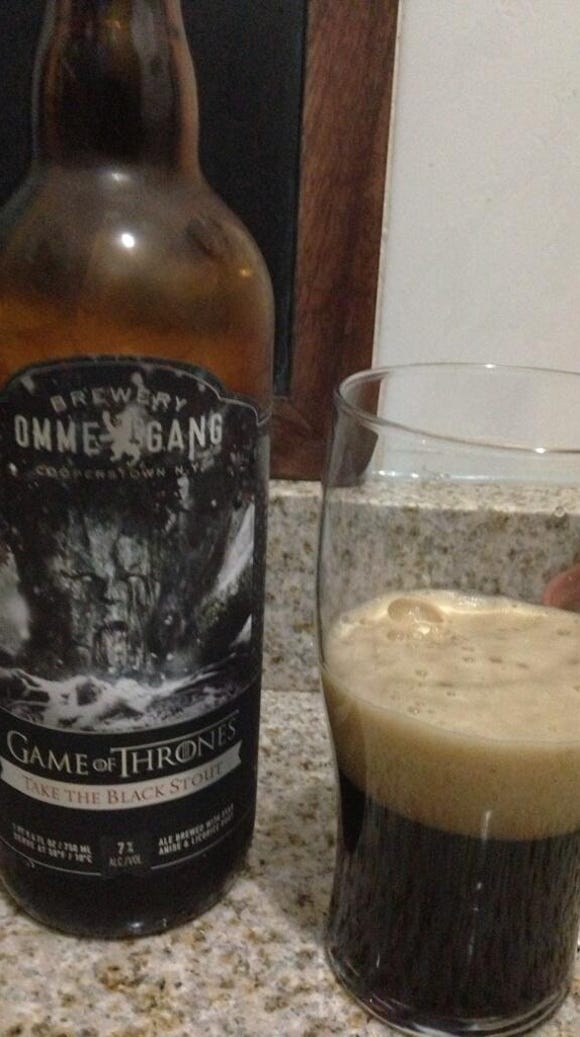 'Game of Thrones' beer: Darker than King Joffrey's heart
