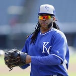 New Royal Johnny Cueto will make his on-field debut Friday in Toronto. He joined the club on Tuesday in Cleveland.