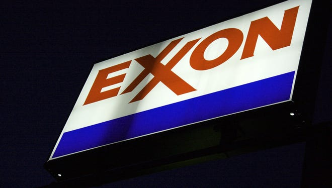 CEO Rex Tillerson says Exxon is having second thoughts about plans to start offshore drilling in some areas in West Africa due to Ebola concerns.