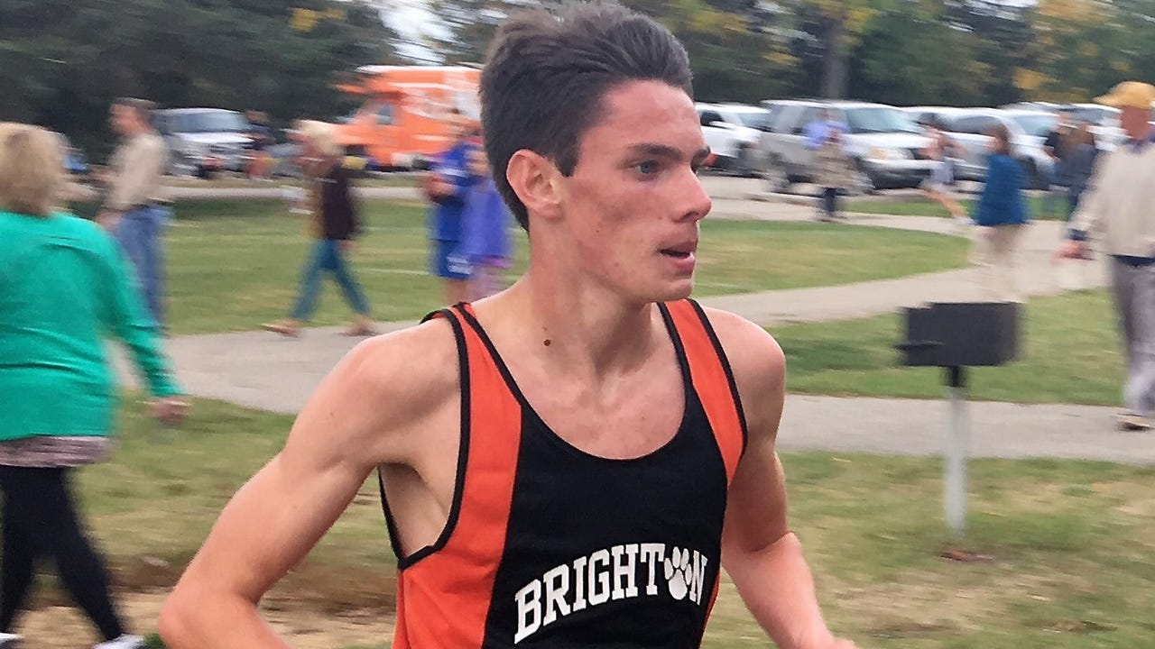 Brighton sophomore Zachary Stewart has even greater goals after making all-state in cross country for the second time. He ran the fastest time in Livingston County this season, earning Runner of the Year.