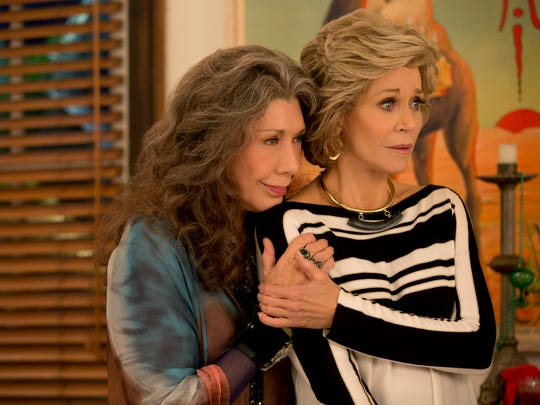 'Grace and Frankie': Our protagonists (Lily Tomlin,
