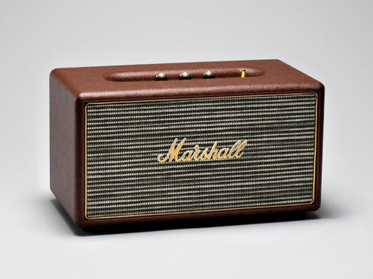 The Stanmore Brown, a vintage-style speaker from Marshall Headphones, is inspired by the looks and sounds of classic rock 'n' roll.