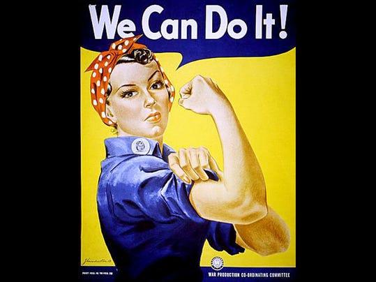 D'une affiche de propagande au féminisme, Rosie, We can do it 1396012467000-rosie-the-riveter