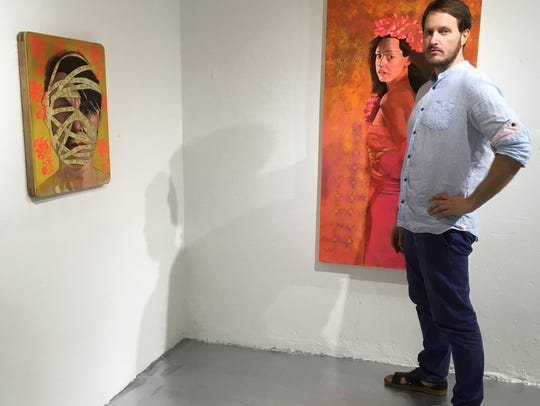 """Juan Rojo is one of the artists featured in """"Retos"""
