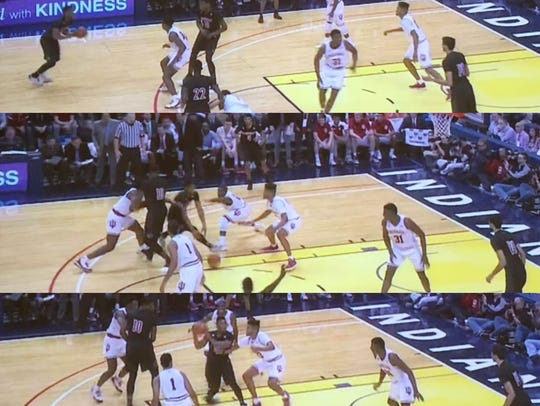 Mitchell's damage to Indiana's pick-and-roll defense