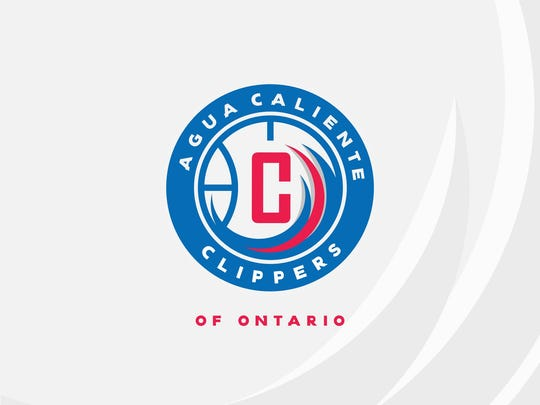 The logo of the new Agua Caliente Clippers of Ontario