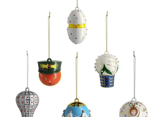 Allessi ornaments are a favorite host or hostess gift. They're at the gift shop in Hayes Hall at Artis-Naples.