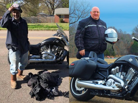 Good Samaritan helps stranded biker