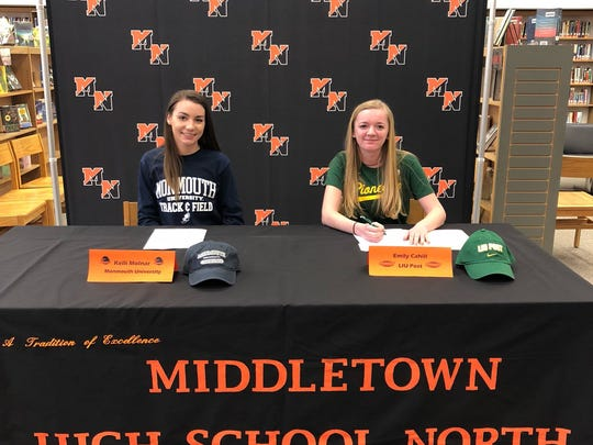 Middletown North spring signing day