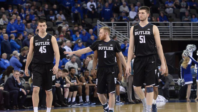 Butler's struggles on the road include being overmatched at Creighton on Jan. 11