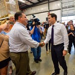Florida Sen. Marco Rubio at Brewery 85 in Greenville in July.