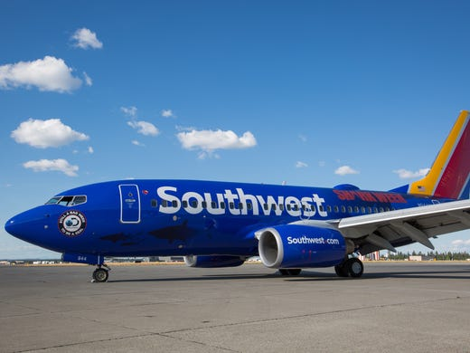 Southwest Airlines Will Fly This Shark Themed Livery
