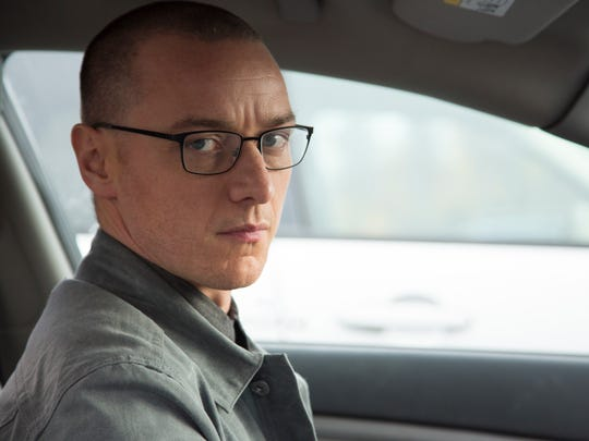 James McAvoy plays Kevin - or is it Dennis? - in the