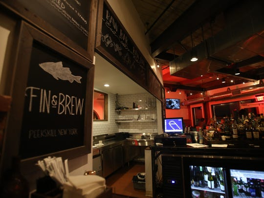 Fin & Brew restaurant at Factoria on the waterfront in Peekskill Dec. 1, 2017.