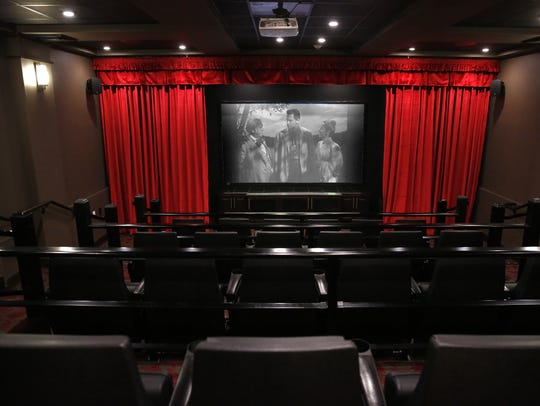 The movie theater at Mulligan Park, a new independent