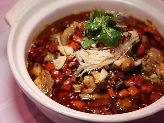 Chongqing chicken is a popular dish at 168 KTV Bistro