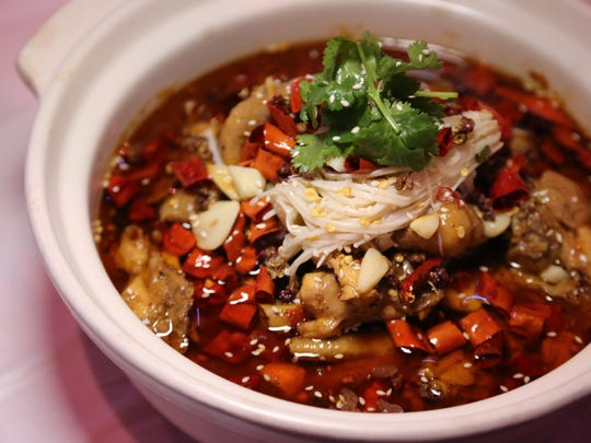 Chongqing chicken is a popular dish at 168 KTV Bistro in Madison Heights. While the city of Chongqing no longer technically belongs to China's Sichuan province, it still features a cooking style that's considered distinctly Sichuan.