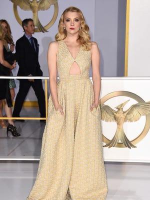 "Natalie Dormer arrives at the Los Angeles premiere of ""The Hunger Games: Mockingjay — Part 1"" on Nov. 17, 2014."