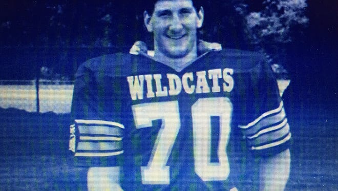 Shane Godfrey, all-county on offense and defense in the late 1980s, is one of five new members of the Woodmont High School Athletic Hall of Fame.