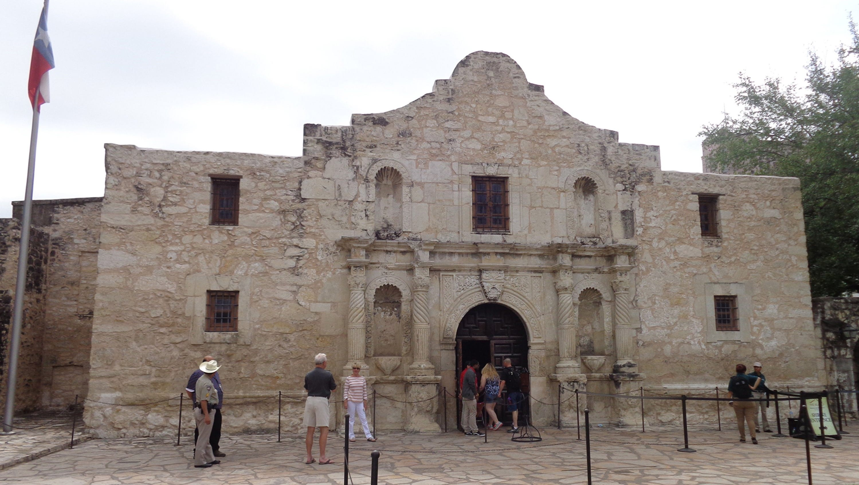It's still worth remembering the Alamo