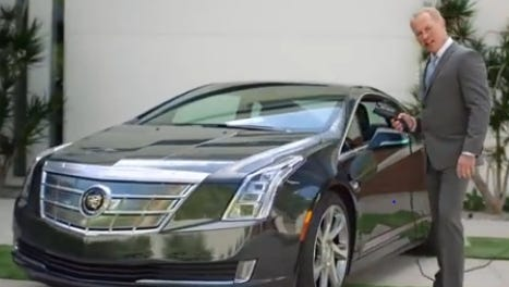 Cadillac's startling ad for the ELR features a rich guy showing off his stuff