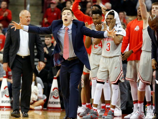 NCAA Basketball: Purdue at Ohio State