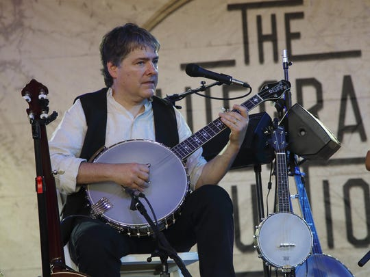 Bela Fleck, shown performing at the 2015 Bonnaroo Music and Arts Festival in Manchester, Tenn., will perform at Palladium at the Center for the Performing Arts on Oct. 23.