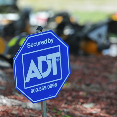 ADT received an alarm and notified 9-1-1 about a house