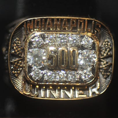 Herff Jones created the Champion of Champions Ring presented to 2010 Indianapolis 500 Mile Race winner Dario Franchitti.