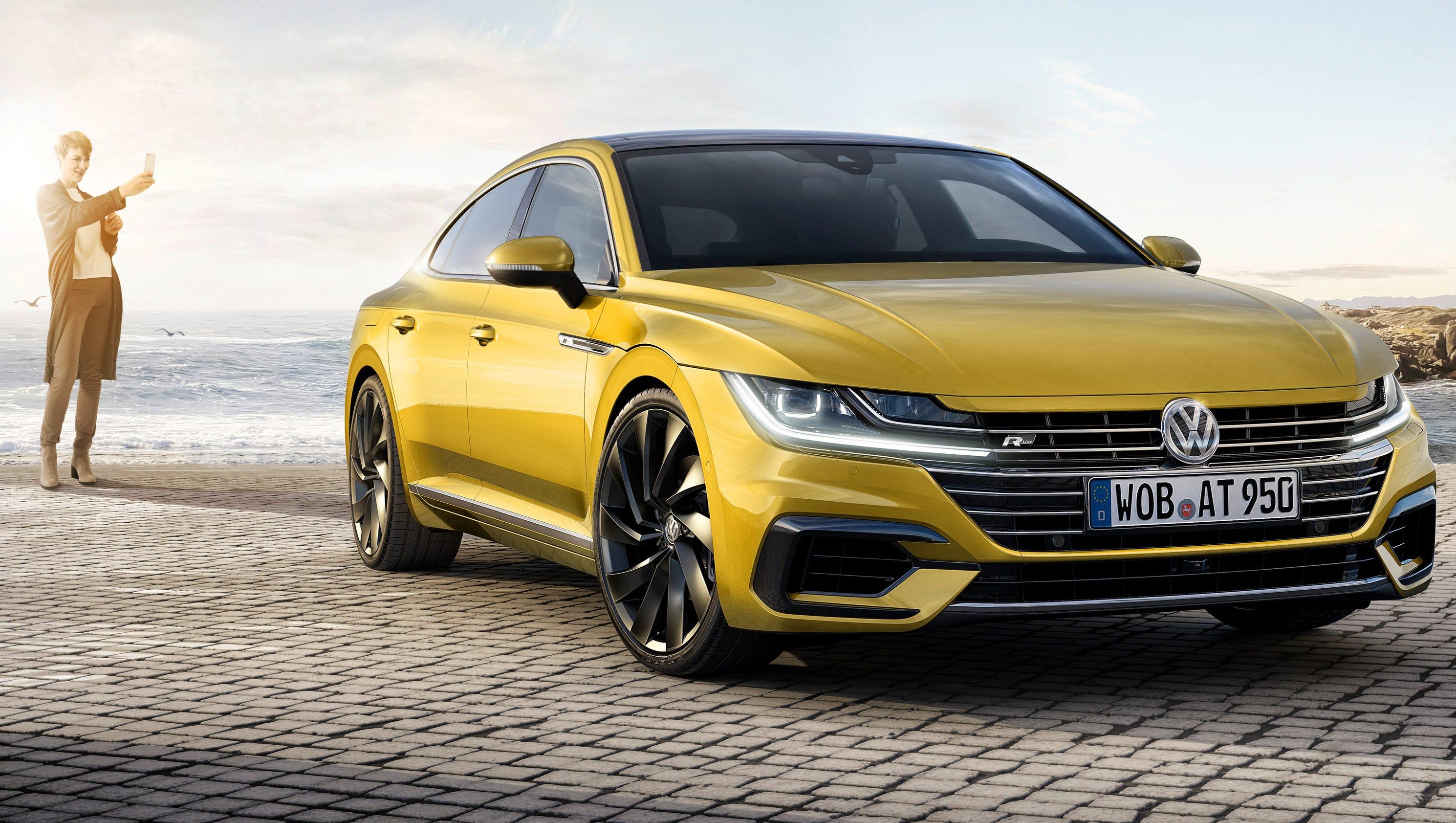 VW shows its sleek new CC sedan replacement, Arteon