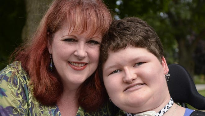 Friends are helping raise money for a cruise for Suzanne and Erinne Williams of Canton. Erinne suffers from spinal muscular atrophy, a strain of muscular dystrophy.