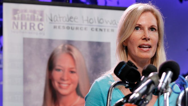 Beth Holloway, mother of Natalee Holloway,  claims in the federal lawsuit filed Friday, Feb. 2, 2018, that the deception surrounding 'The Disappearance of Natalee Holloway' was so complete she was even tricked her into providing a DNA sample to match against what producers claimed were remains that could be those of her long-missing daughter.