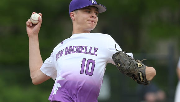 Eastchester defeated New Rochelle 8-6 in baseball action