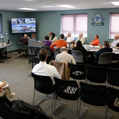 The Green Bay Redevelopment Authority holds its monthly