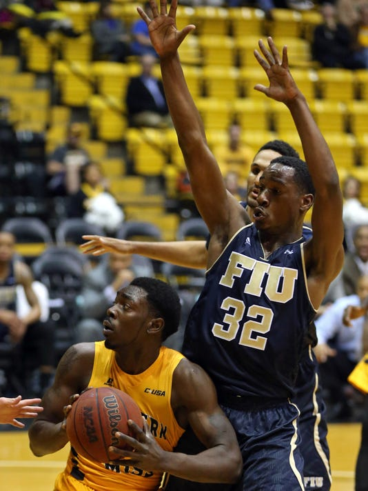 NCAA Basketball: Florida International at Southern Mississippi