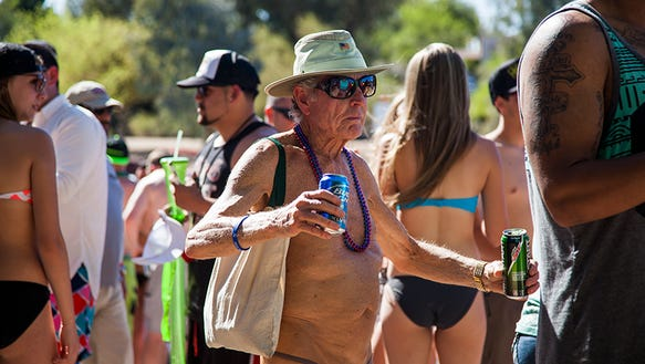 All ages at spring break